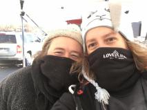 cold farmers at market